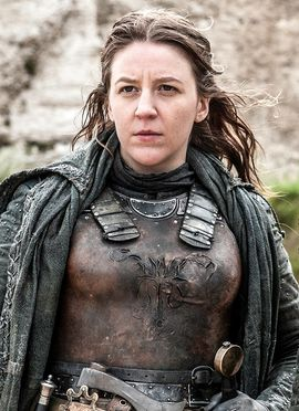 A picture of the character Yara Greyjoy - Years: 2012, 2013, 2014, 2016, 2017, 2019