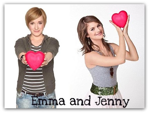 Emma and Jenny