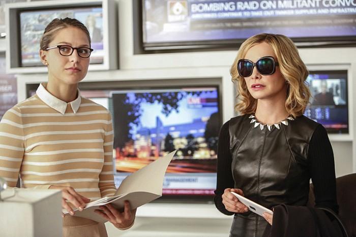 Kara (Supergirl) and Cat