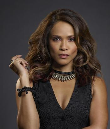 Mazikeen - AKAMazikeenSmith (because why not?) she was Lucifer's chief torturer in hell, bartender at Lux, and now is a bounty hunter