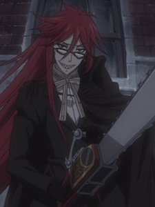 A picture of the character Grell Sutcliff