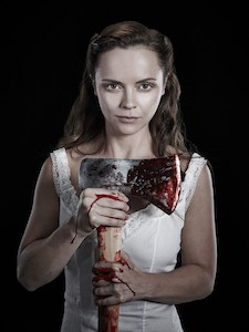 A picture of the character Lizzie Borden