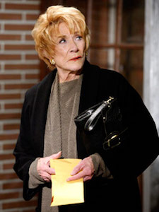 Katherine Chancellor - Has a crush on Joann. She starts lavishing her with gifts, but when Joann realises this, Joann ends their friendship.