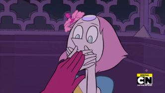 Pearl being told to never tell