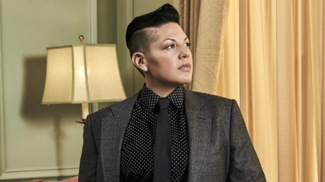 Bisexual Characters - Kat Sandoval played by Sara Ramierez on Madam Secretary