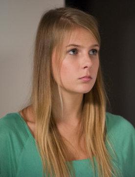 "A picture of the character Aleksandra ""Ola"" Zimińska"
