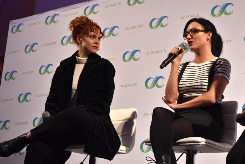 Annie Briggs and Natasha Negovanlis.