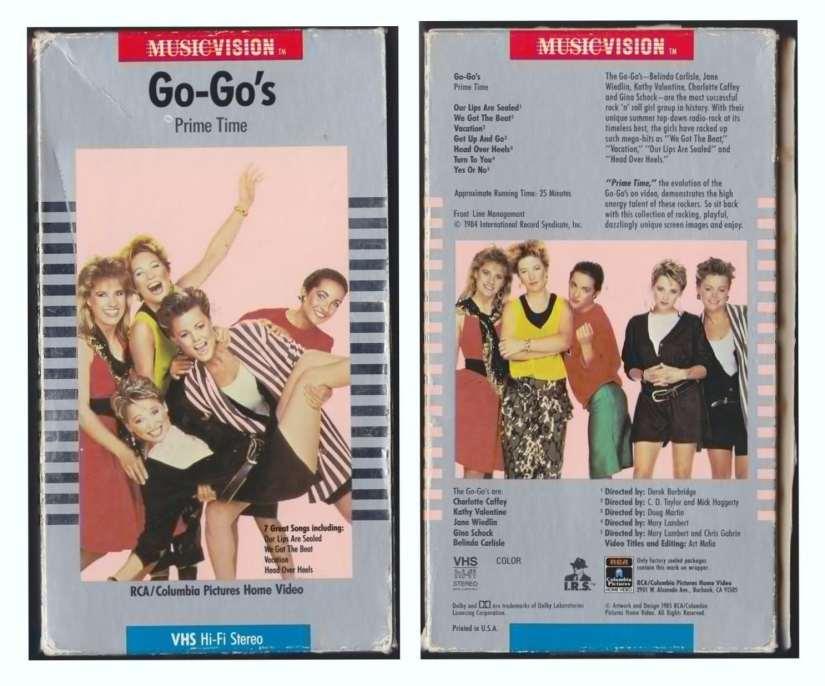 GoGo's Prime Time VHS video