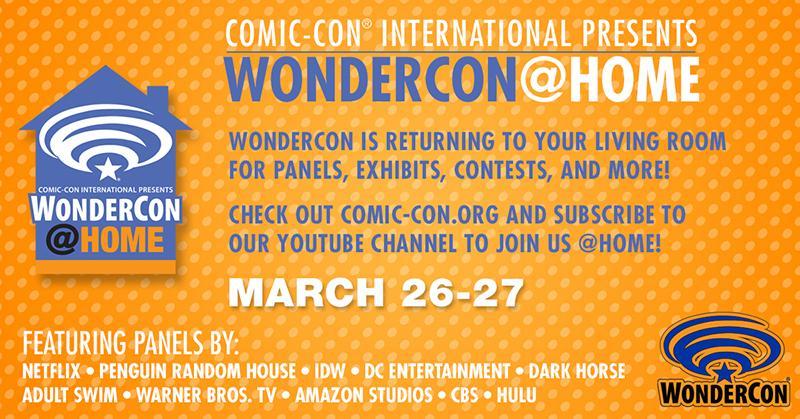 WonderCon@Home Again