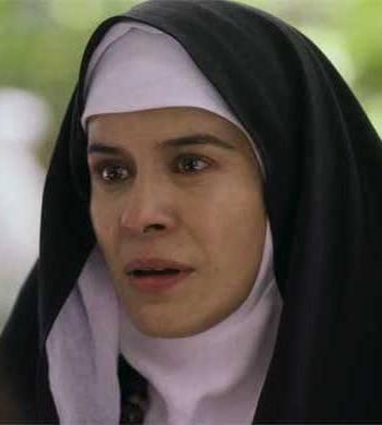 A picture of the character Juana Inés de la Cruz