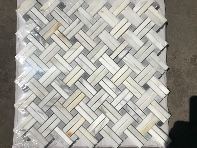 marble subway tile basketweave mosaic marble tile 80 for all pieces state college