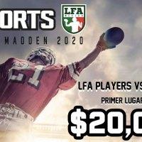 La LFA incursiona en mundo 'gamer' con el primer Torneo Madden 20