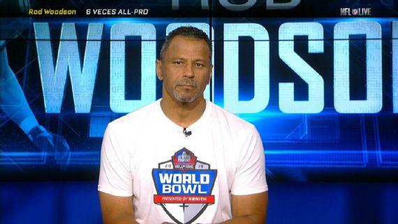 """""""Lo ideal es jugar joven a nivel profesional"""", Rod Woodson"""