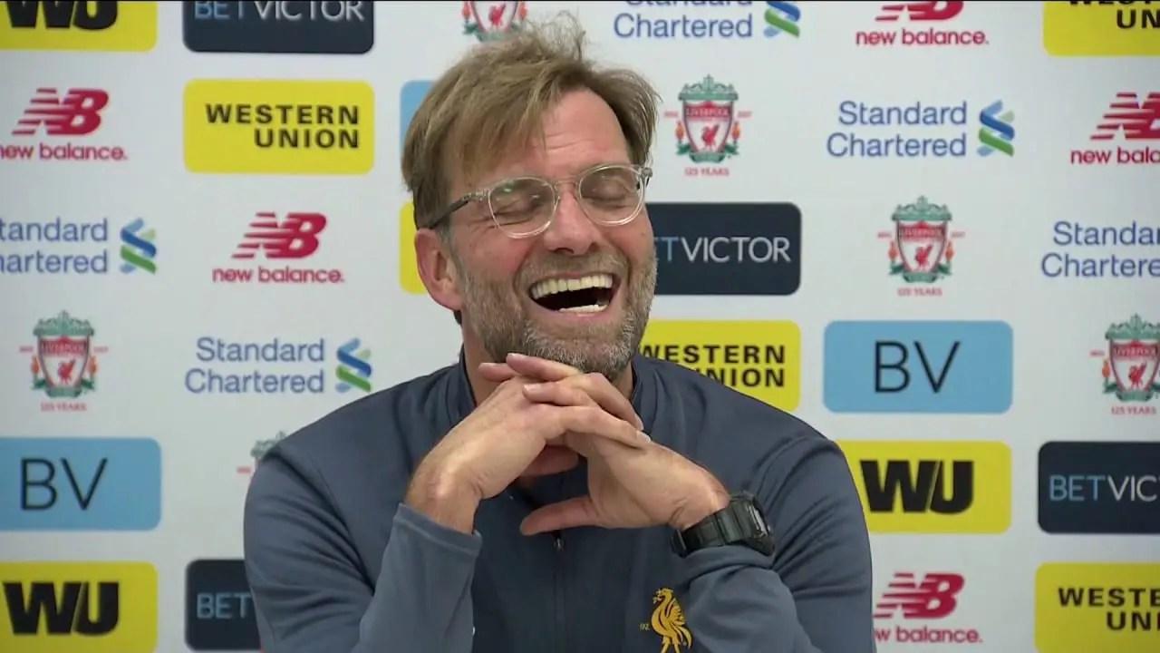 Jurgen Klopp's pre-Tottenham press conference