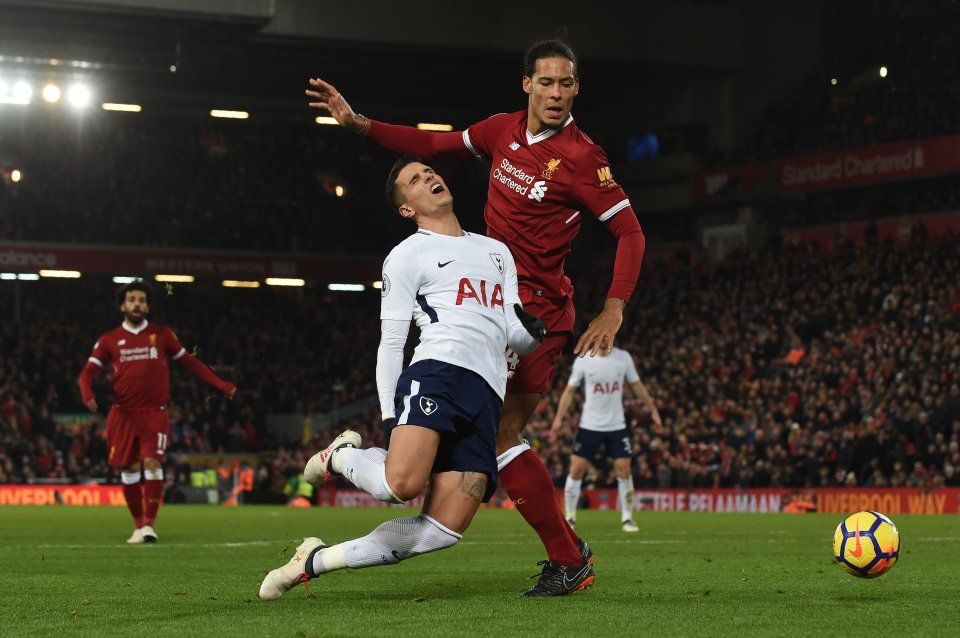 Virgil van Dijk criticises Harry Kane for diving and rues penalty call