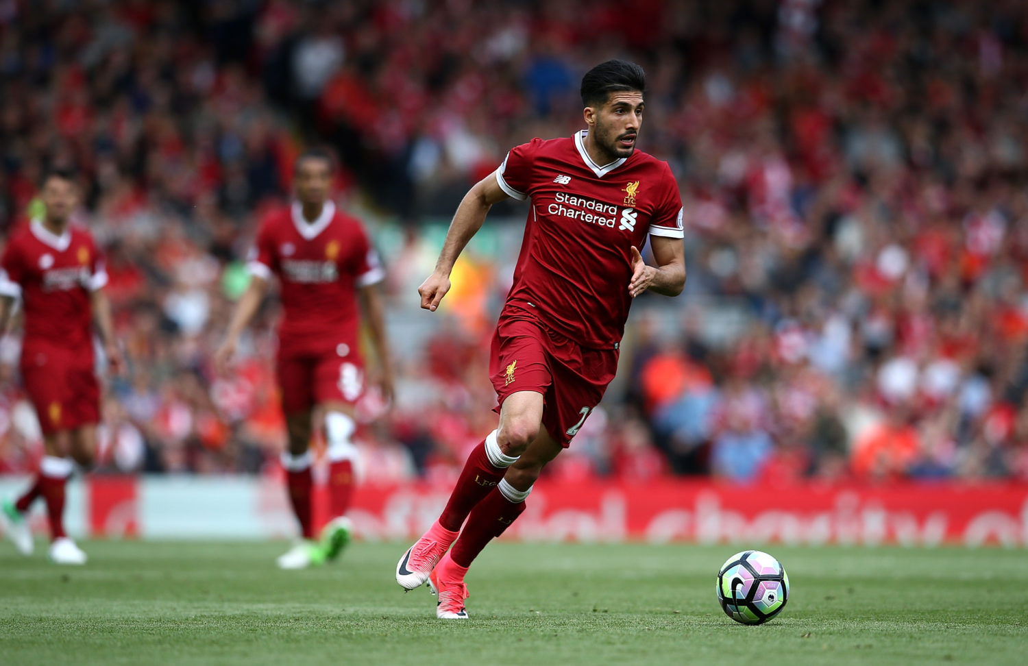 Emre Can told to make decision on future 'within the next week'