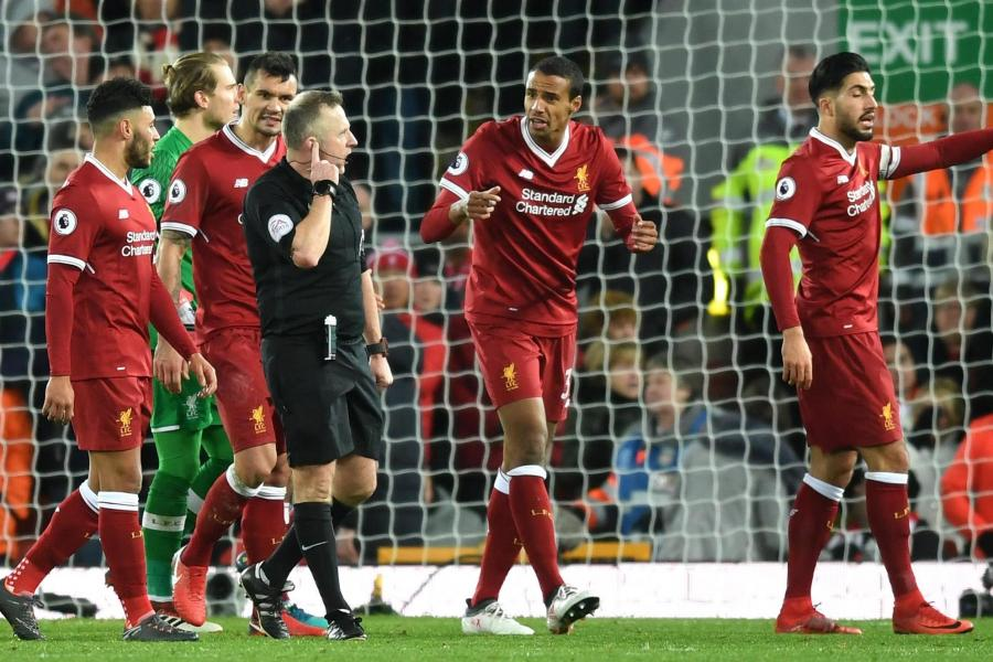 Klopp furious as he says referee Jon Moss wanted to be centre of attention