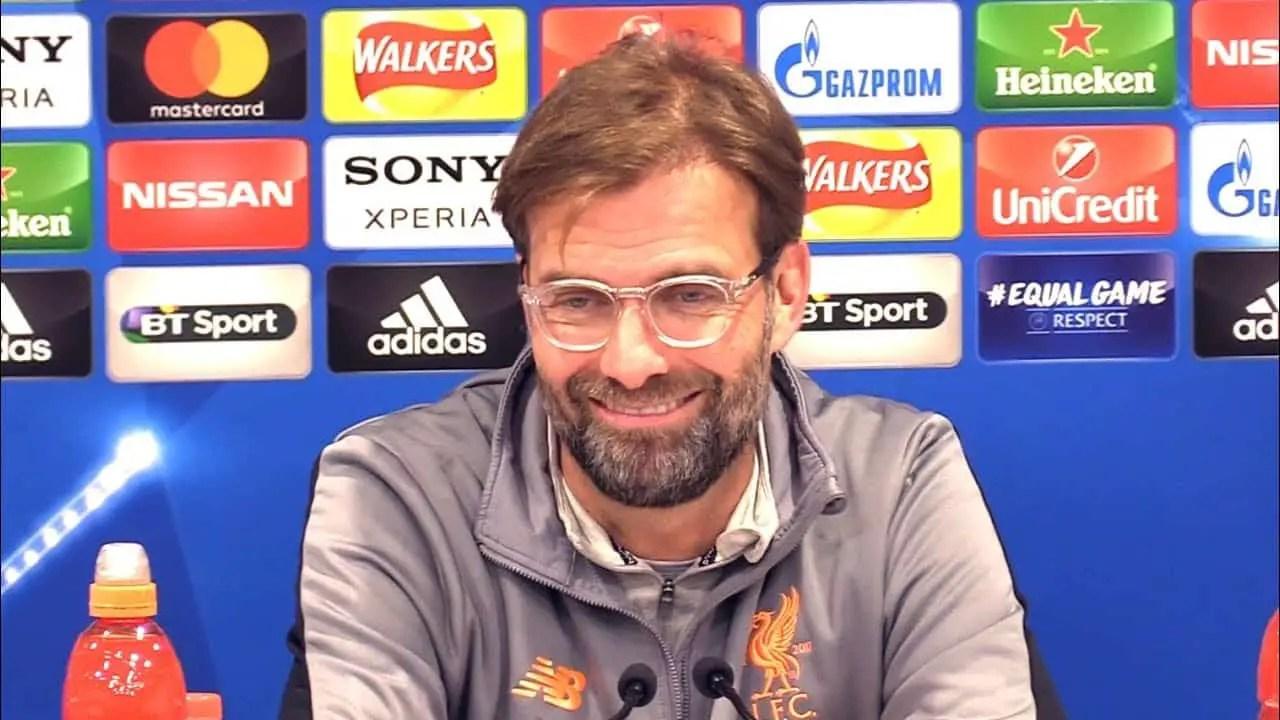 Video: Jurgen Klopp's post-match press conference – Liverpool 0-0 Porto (5-0 agg)