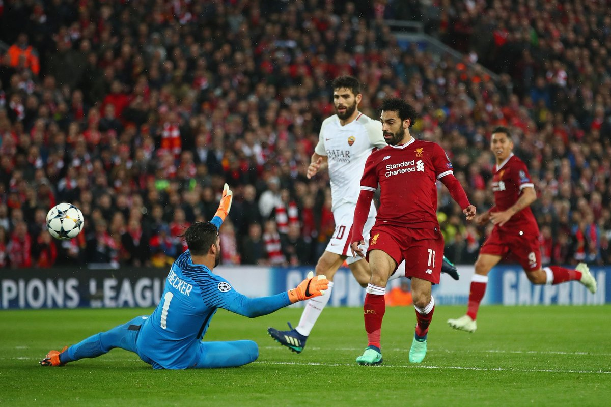 Mohamed Salah's sensational goals vs Roma (Video)