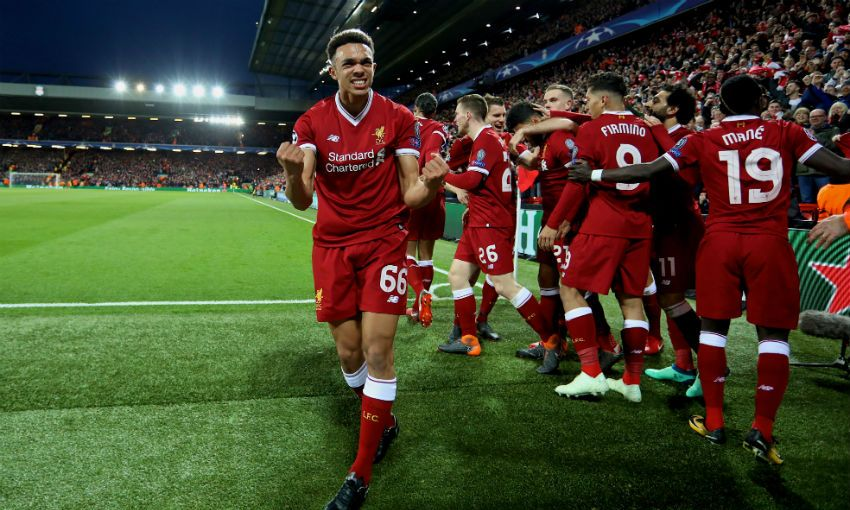 Liverpool fans inspired us, says Oxlade-Chamberlain