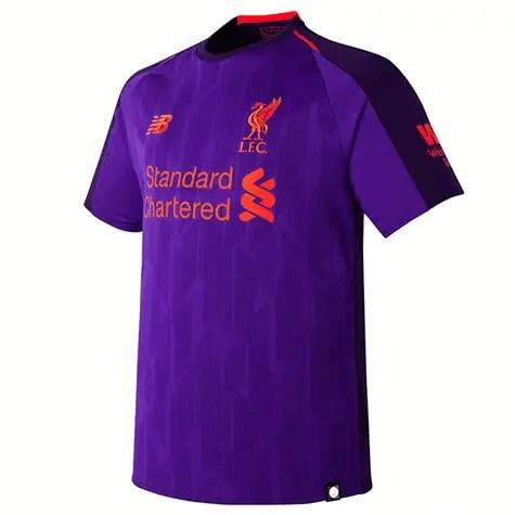 Liverpool FC Away Kit 2018/19