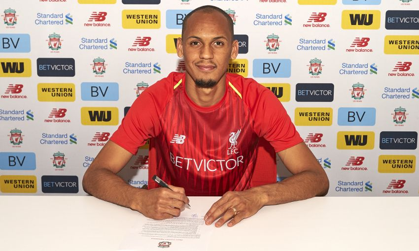 Liverpool announce signing of Fabinho