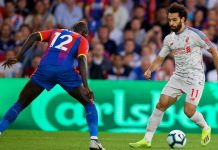 Crystal Palace 0-1 Liverpool