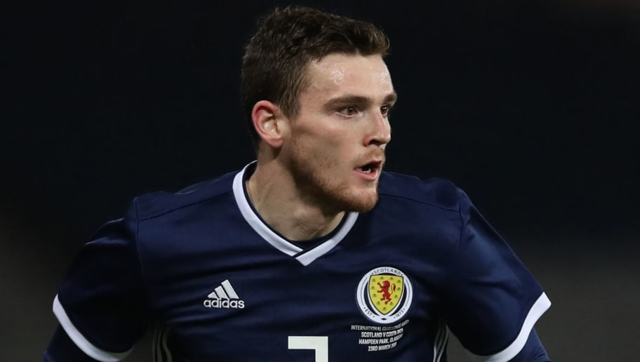 Liverpool's Andy Robertson provides quality assist for Scotland vs. Albania – Watch