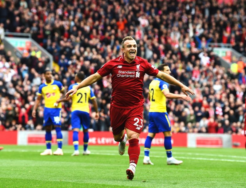 """Who needs Fekir?"" – What Liverpool supporters made of Xherdan Shaqiri's first start"