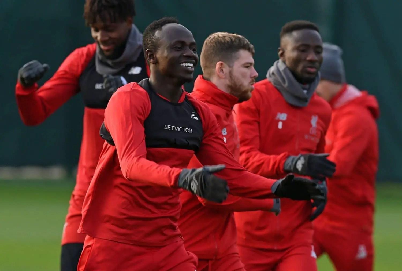 Watch: Liverpool squad in training ahead of Merseyside derby