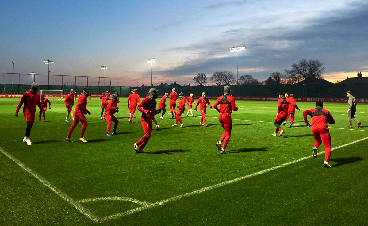 The best snaps from Melwood as Liverpool squad prepare for Man United