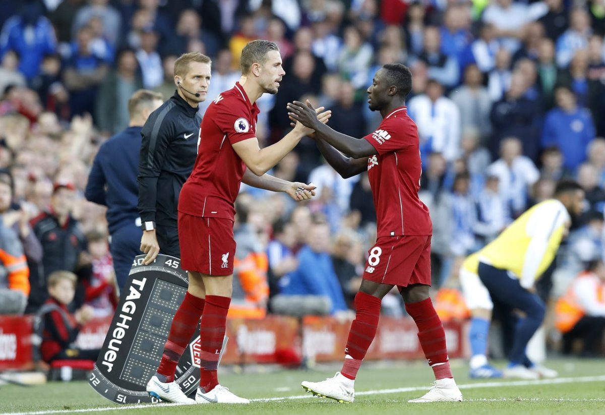 Jordan Henderson has his say on competition for places from Reds' summer arrivals