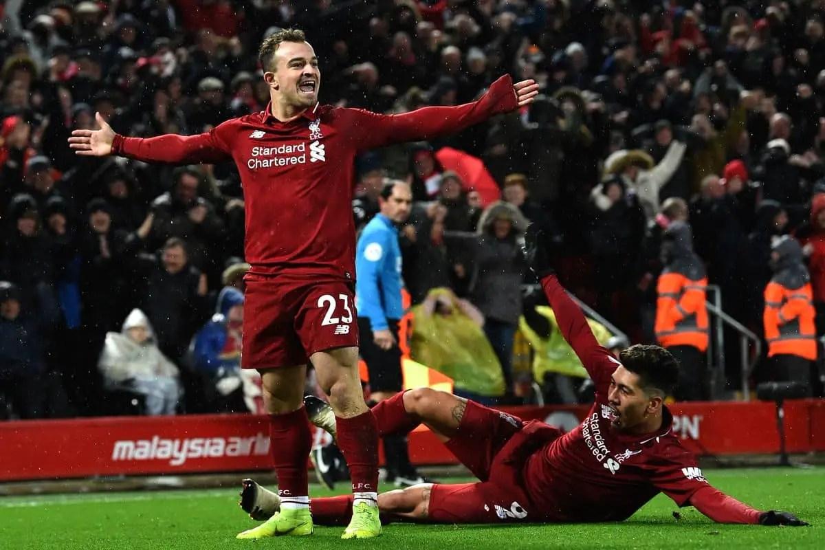 Liverpool fc goals v man utd