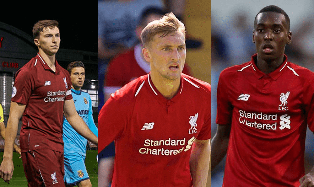Three surprise inclusions in Liverpool squad for Man United clash