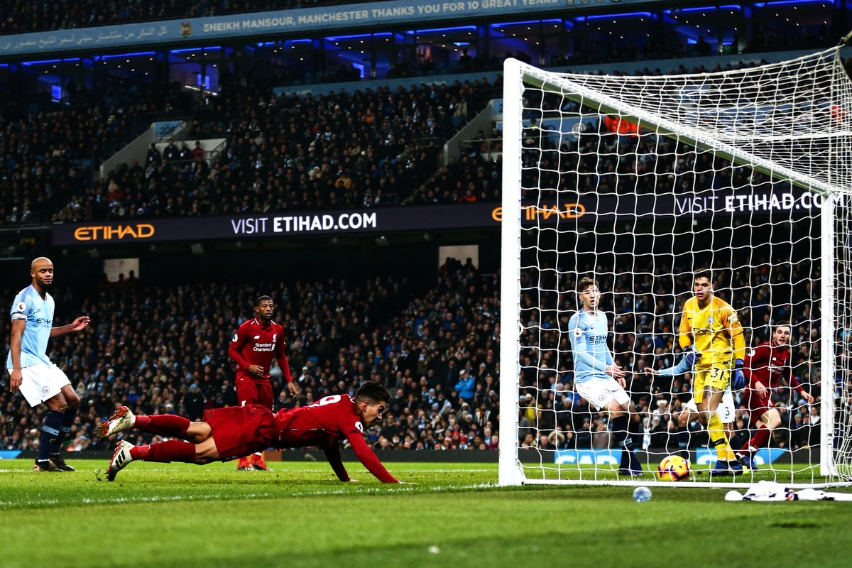 Manchester City 2-1 Liverpool – As it happened & social media reaction