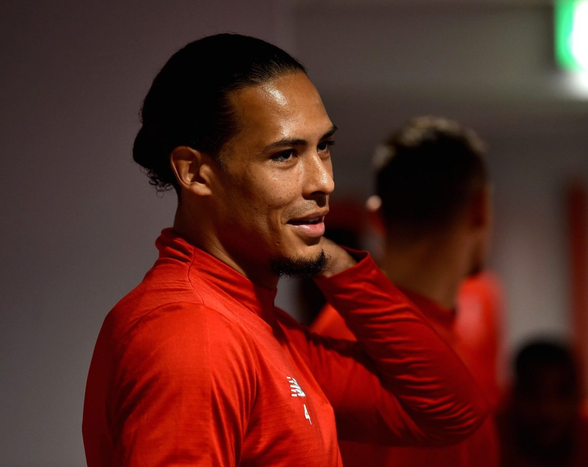 Van Dijk says not battling Messi for Ballon d'Or