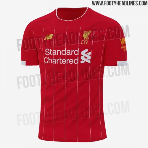 Liverpool 2019/20 Home Kit Leaked