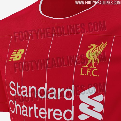 Liverpool 2019/20 Home Kit Leaked