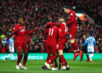 Liverpool vs Huddersfield Highlights