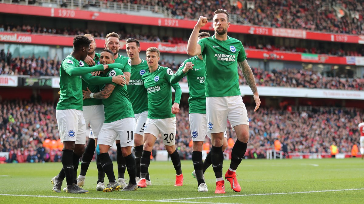 Arsenal 1-1 Brighton – Highlights and Goals (Video)