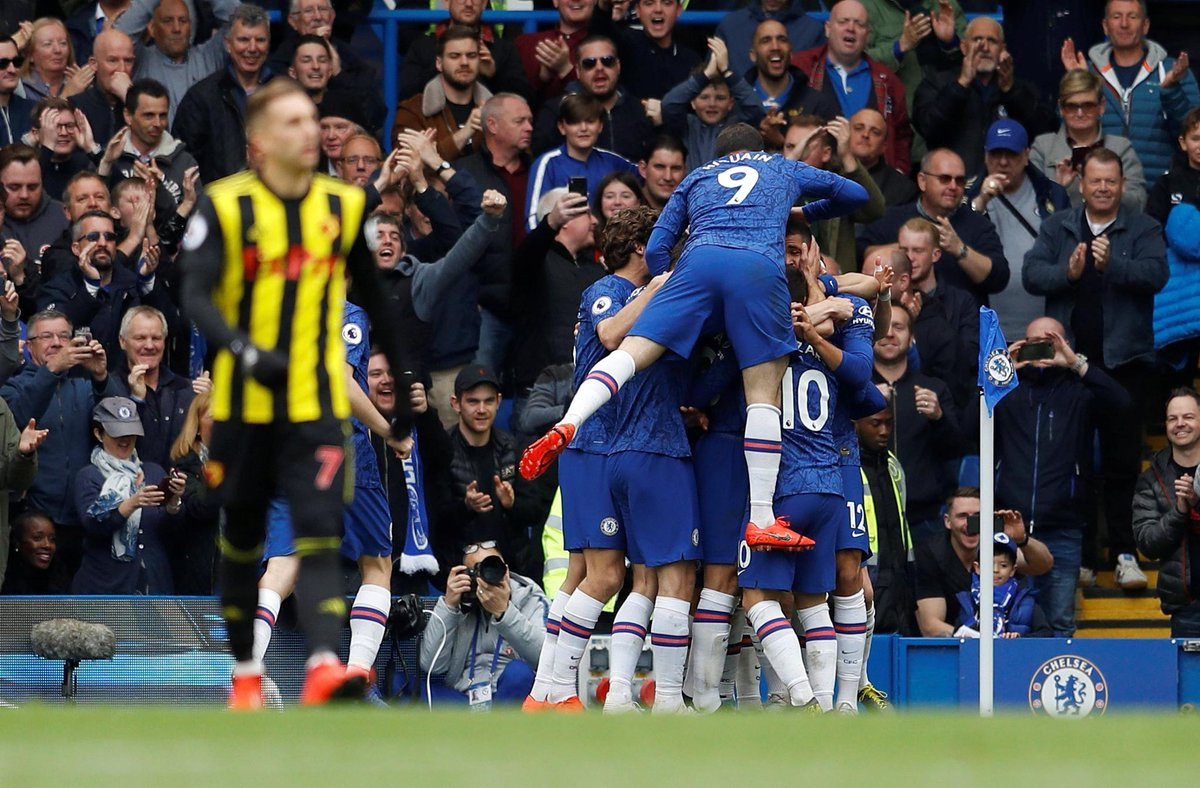 Chelsea 3-0 Watford – Highlights and Goals (Video)