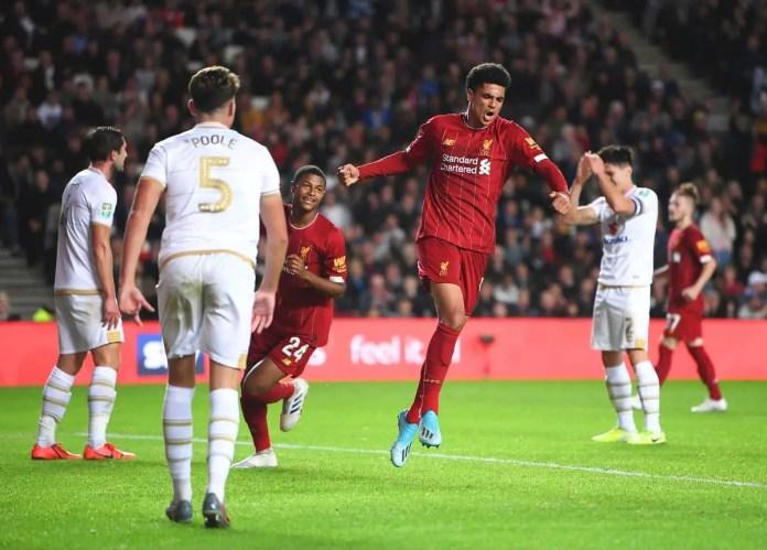 MK Dons vs Liverpool Highlights