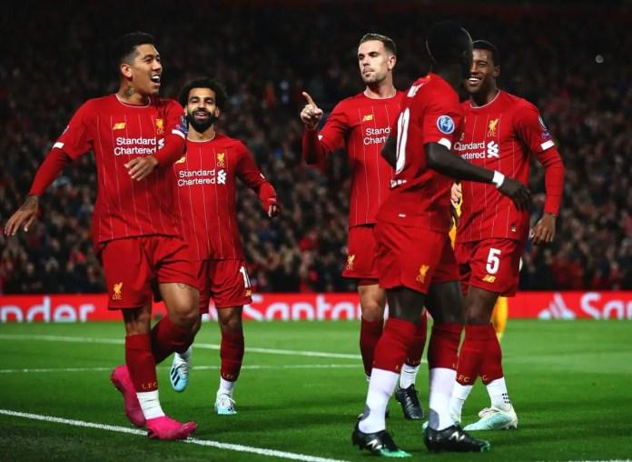Liverpool vs RB Salzburg Highlights