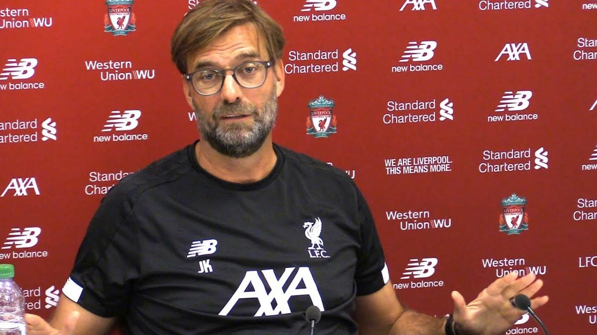 Watch: Jurgen Klopp's pre-match press conference – Aston Villa vs Liverpool