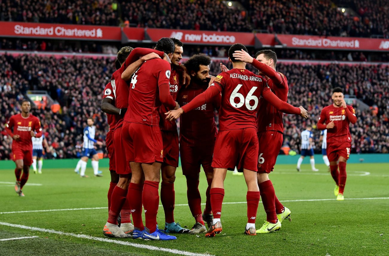 Liverpool 2-1 Brighton – Highlights and Goals (Video)