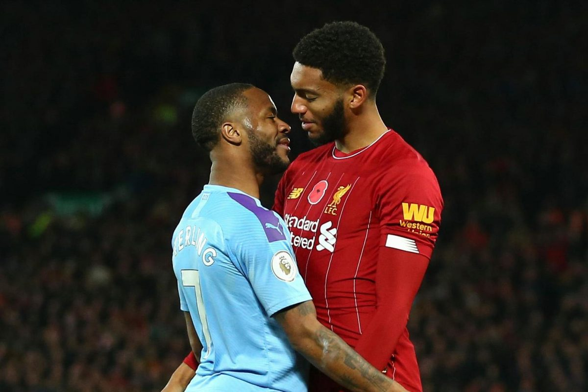 Joe Gomez and Raheem Sterling involved in physical altercation on England duty
