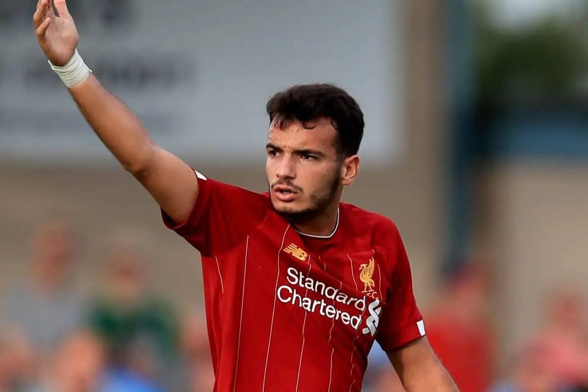 Confirmed Liverpool team vs Aston Villa – Five youngsters make debuts