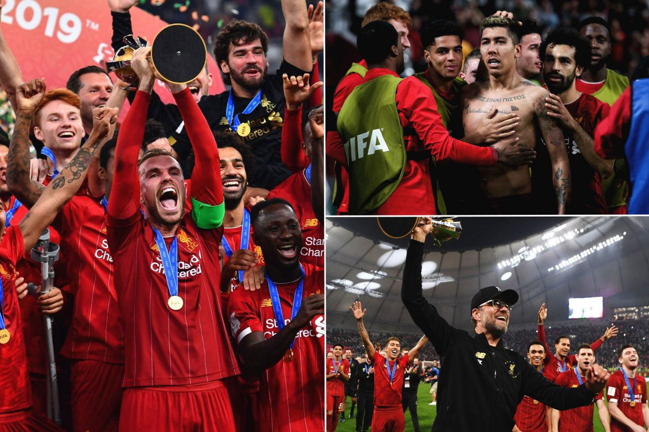 The best photos from Qatar as Liverpool lift Club World Cup trophy