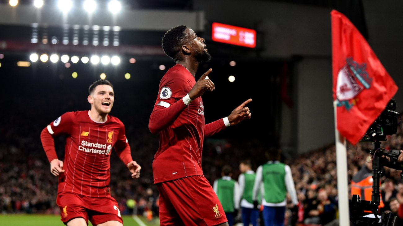Divock Origi: We showed how much we enjoy playing for Liverpool
