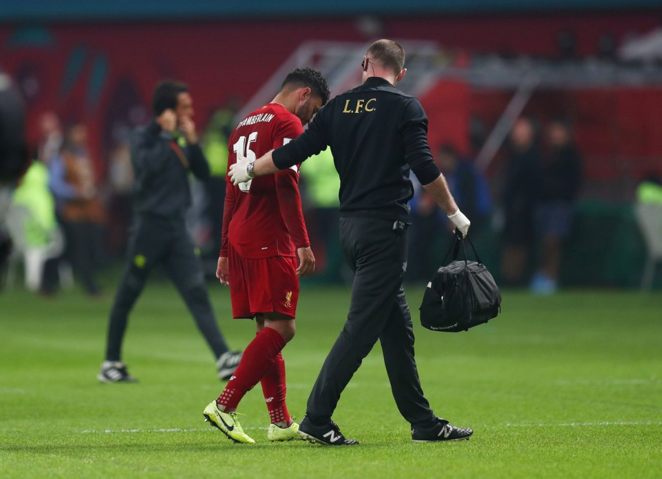 Alex Oxlade-Chamberlain out of action till 2020 with ankle ligament damage